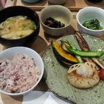 かんみこより - 【2015年7月】一汁三菜セットランチ(ドリンク付き)1000円