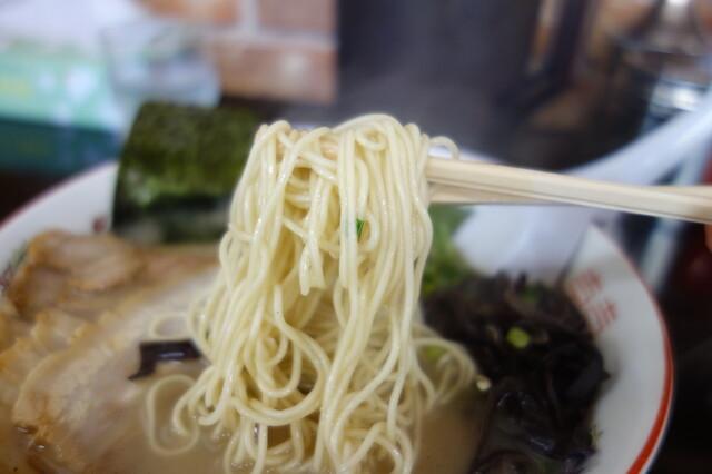石田一龍 本店 - 2015年 麺