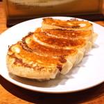 支那麺 はしご - はしご 特製ぎょうざ (2015/06)