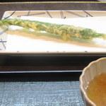 40149563 - これは、京都産のとうがらしの一種だそうです。万願寺より細い。