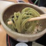 武蔵利休 - なかなか美味しい茶そばでした。