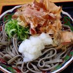 四季菜 - 料理写真:おろしそば 400円(税込) (2015.07現在)