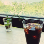 湘南平展望レストラン Flat - 今日はコーヒーだけで…