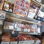 ガーデンカフェ&デリカ キモト - お肉屋さんです
