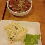 40150887 - 自家製ポテトサラダ+野菜サラダ小