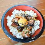 麺王 - チャーシュー丼