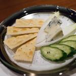 オールドパル - チーズ盛り合わせ