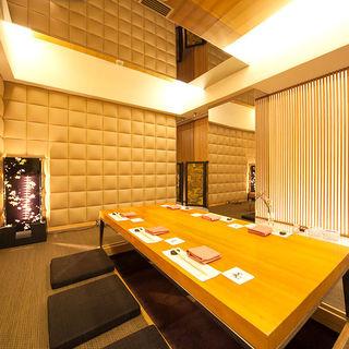 【接待・ご宴会に】床の間付きの完全個室は1日限定1組です♫