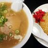 長浜ラーメン 風び - 料理写真:ランチセット