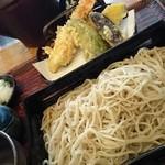 芙蓉庵 - 天せいろ蕎麦