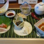 こまじろ - 本日の和膳(八寸仕立て)