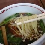 麺や ようか - 醤油味のつけ汁