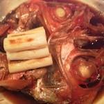 すし処 大 - 金目鯛のかぶと煮でーす。