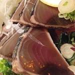 安乍希 - 薬味たっぷりカツオたたき定食