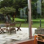 休暇村 帝釈峡 - 食事の一番の取り柄は窓からの眺め