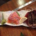 北海道知床漁場 - 三種盛り