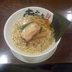 40169797 - 麺屋 あごすけ(新潟県上越市)醤油麺(正油らーめん)700円