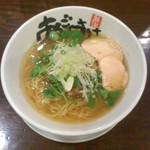 40169799 - 麺屋 あごすけ(新潟県上越市)旨塩鶏麺(塩らーめん)810円