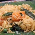 南印度ダイニング ポンディバワン - ビリヤニも野菜♪