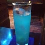 BLUE FISH AQUARIUM - 『シーサイド・ロマンス』(880円)!沖縄の泡盛とシークァーサーを使ったカクテル~♪(^o^)丿