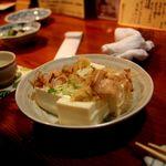 40171210 - 安政五年創業の豆腐屋 孫兵衛の豆腐の冷奴・・・確かに美味い・・・