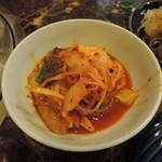 焼肉 コチカル - キムチ