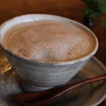 亀時間 - ドリンク写真:マヤナッツミルク 豆乳でつくってもらいました