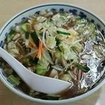 見晴しドライブイン - ジャンボ野菜らーめん(800円)