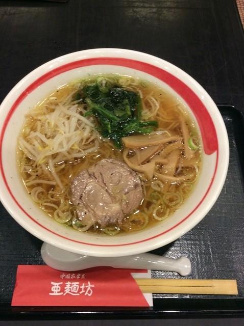 亜麺坊 新潟店 - ラーメン600円