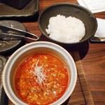 40174868 - テグタンスープにはご飯貰いました合う!!!