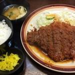 40175352 - ヒレ豚カツ定食1.5倍1220円