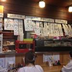 錦山 - メニュー、短冊