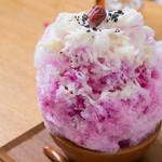 オイモカフェ - 梅干し氷
