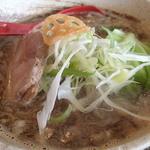 麺処 蓮海 - まぐろ豚骨醤油ラーメン770円