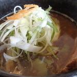 麺処 蓮海 - まぐろ豚骨醤油つけ麺770円