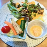 40176083 - 野菜とバーニャカウダソース