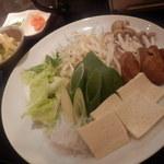 北海道しゃぶしゃぶ ポッケ - 野菜たち
