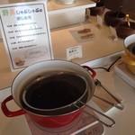 池田ワイン城 - 野菜しゃぶしゃぶはこんな感じで