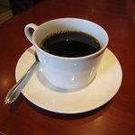 サロン デ サン - ランチのセットのコーヒー