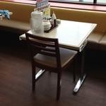 餃子の王将 - (内観)テーブル席