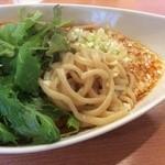 40180604 - 汁なし担担麺:麺アップ