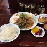 40181440 - レバ焼き定食/¥890