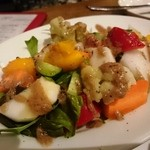 40181636 - 彩り野菜のアンチョビソース500円