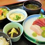 海の幸 - マース煮定食(2160円)