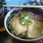竹のい食堂 - 料理写真:きつねうどん 400円