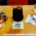 トリアノン - アイスコーヒーで一息ついた❤️