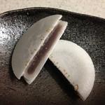 うすかわ饅頭儀平 - 求肥で包んださらし餡が薄干皮で挟まれた「浜そだち」