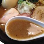 ボニートスープヌードルライク - 鰹✕鶏 RAIK らー麺のスープ
