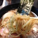 ボニートスープヌードルライク - 鰹✕鶏 RAIK らー麺の太麺
