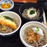水府物産センターレストラン 森の風 - ☆三色そば☆